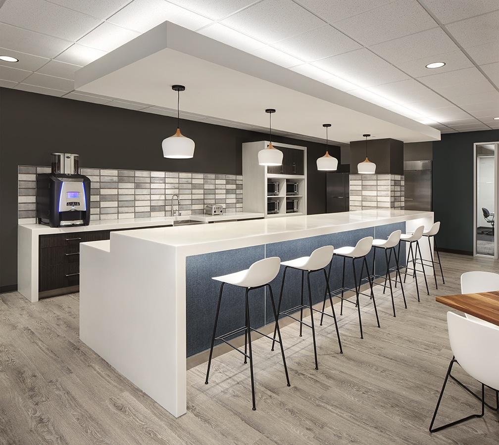 dynamic open office plan work cafe