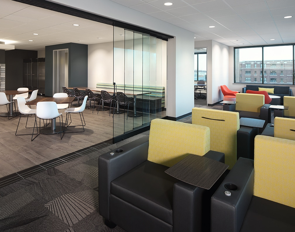 dynamic open office plan